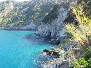 gorgeous waters at Cinque Terre